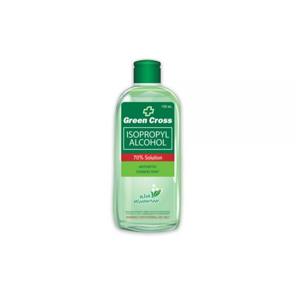 Green Cross 70% Alcohol with Moisturizer 150ml