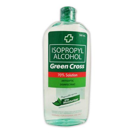 Green Cross 70% Alcohol with Moisturizer 500ml