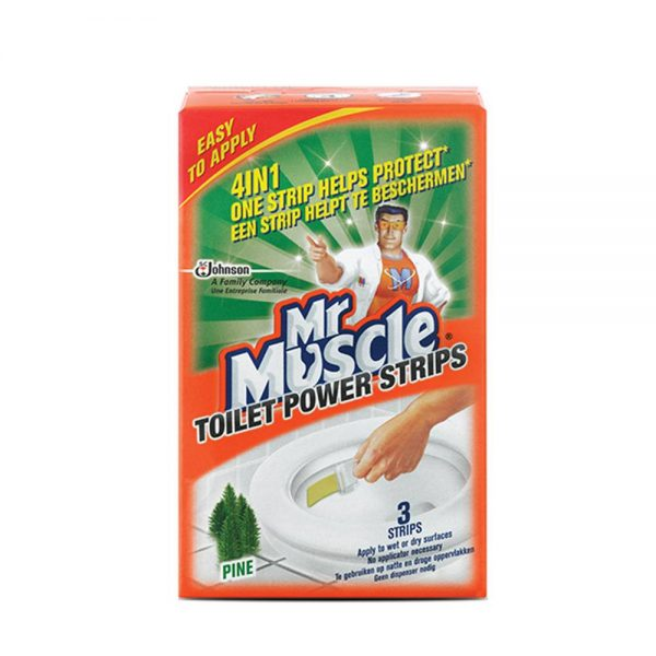 Mr. Muscle Stick-On Toilet Bowl Cleaning Strip 30g
