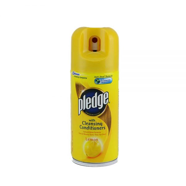 Pledge Furniture Polish Lemon 180ml
