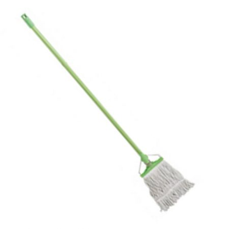 Cotton Mop Head with Plastic Handle