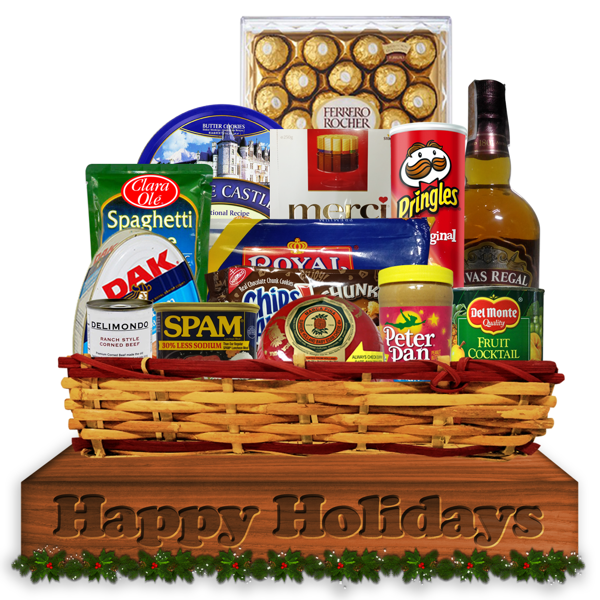 Christmas Basket Philippines, Corporate Giveaways | Pingcon Marketing
