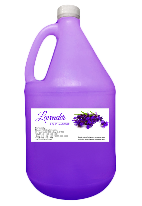 Liquid Hand Soap (Lavender)